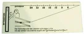 Spessimetro ottico per vetro