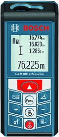 Telemetro al laser BOSCH GLM 80