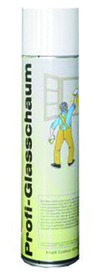 Schiuma detergente professionale per vetri