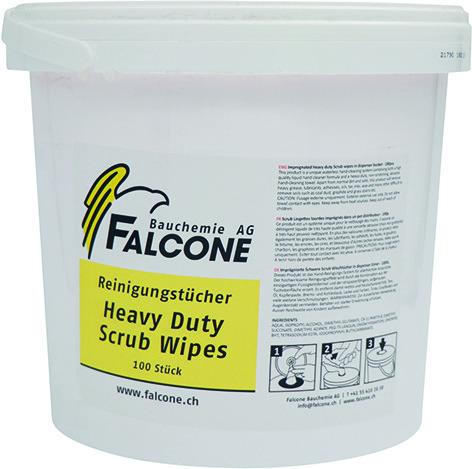 Feucht-Reinigungstücher FALCONE Scrub
