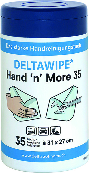 Chiffons humide DELTAWIPE Hand 'n' More