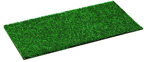 Recouvertes de fibres synthétiques