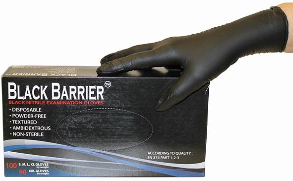 Gants à jeter nitril Black Barrier