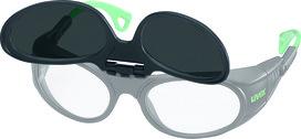 Flip-up relevable pour lunettes de protection pour soudeurs UVEX 9104