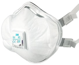 Masques antipoussières (fine) 3M 8825 PREMIUM / FFP 2