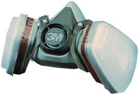 Maschera di protezione delle vie respiratorie 3M 6200 Kit