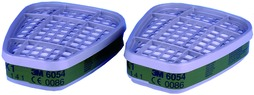 Filterpatronen 3M 6054 / K1 zu Atemschutzmaske