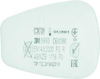 Filtres 3M 5935 / P3R pour masques de protection de la respiration