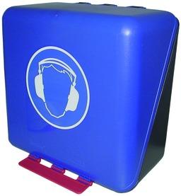 Boîte de rangement pour casque de protection auditive