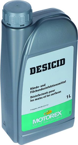 Händedesinfektionsmittel Nachfüll-Flasche MOTOREX Desicid