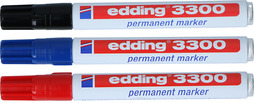 Filzschreiber Permanent Marker EDDING 3300