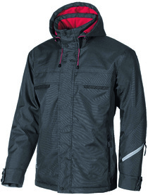 Winterjacke SNOW U-Power Grey Meteorite