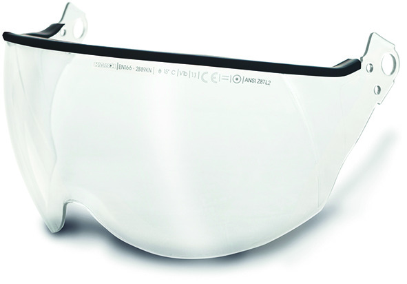 Protection pour les yeux incolore pour casque de protection PLASMA AQ
