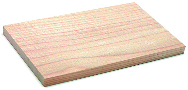 Planches en sapin rouge