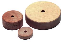 Petites roues en bois