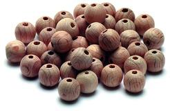 Demi-boules en bois