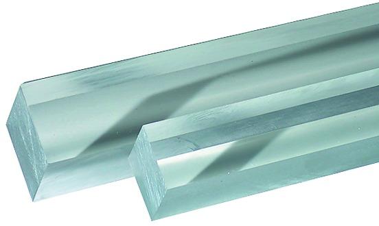 Barrette quadre di plexiglas GS