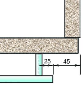 Poignées de meuble ø 12 mm spécialement pour largeur d'élément ou hauteur de corps