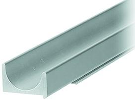 Griffleistenprofile mit Profilhöhe 13 mm