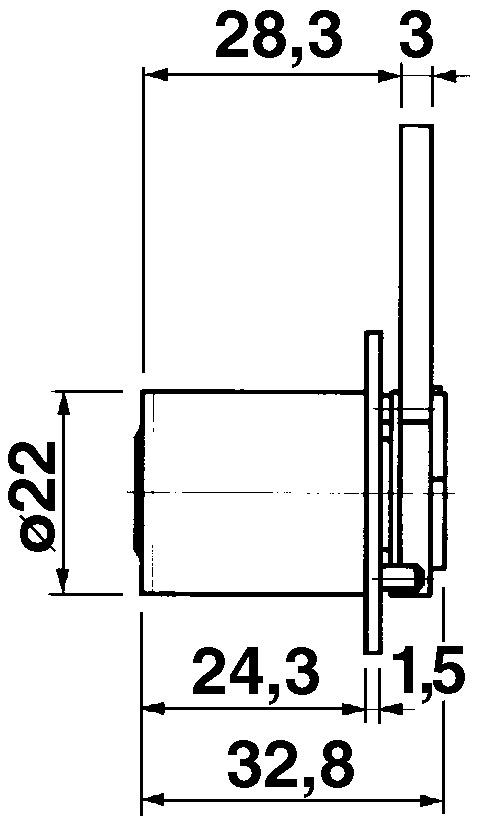 Cylindre de fermeture KABA 8, type 1129