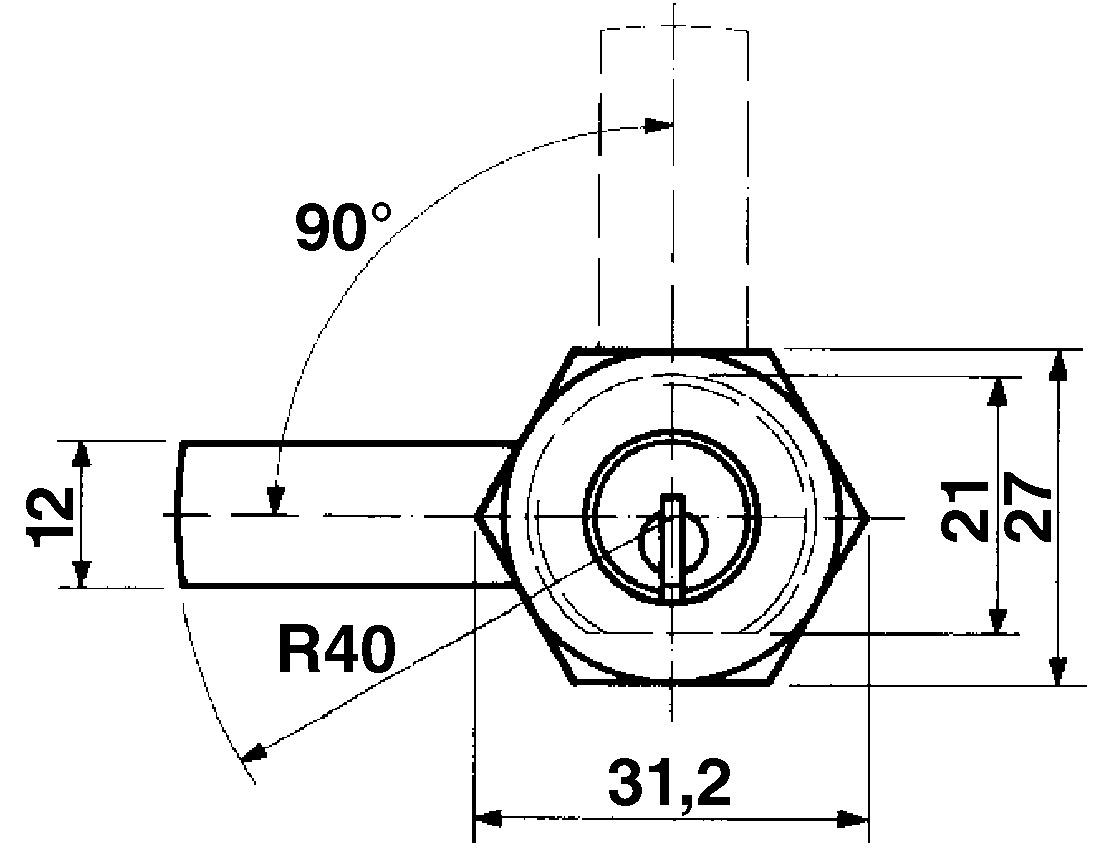 Cylindres de fermeture KABA 8, type 1031/1061