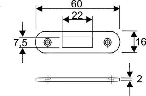Serrure pour volets à rouleau WKS - P5000