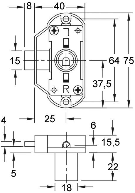 Serrure-espagnolette WKS - P5000