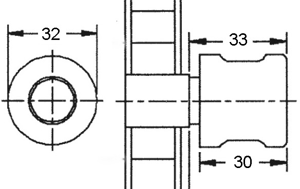 Olives tournantes à cylindre WKS - P5000