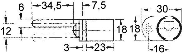 Cylindre pour fermeture centrale WKS - P5000