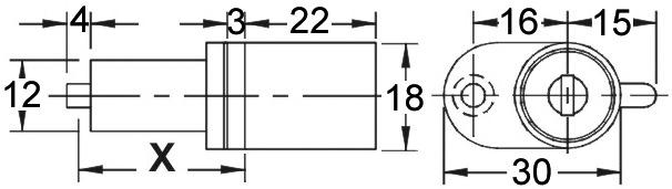 Cilindro per chiusure centrali WKS - P5000