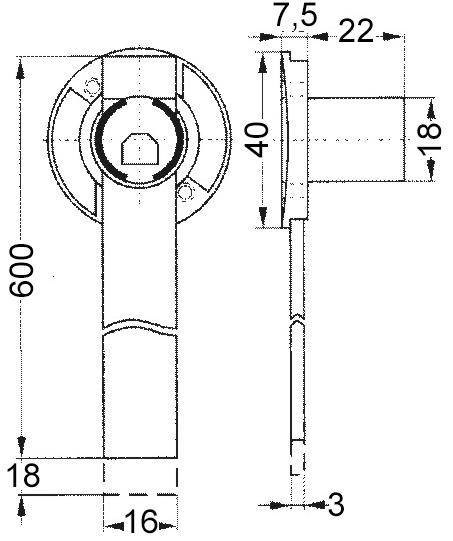 Zentralverschluss-Zylinder WKS - P5000