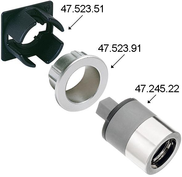 Adattatore WKS - P5000 per serrature TERZA e STELOC