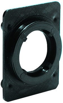 Placchetta di fissaggio per cilindri
