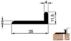 Profil de couvre-joints