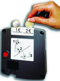 Serrature con funzionamento a moneta Safe-O-Mat twin-coin