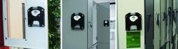 Sistema per guardaroba con cilindro intercambiabile