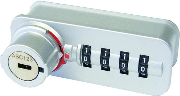 Zahlenschloss Dial Lock 59 Fixcode
