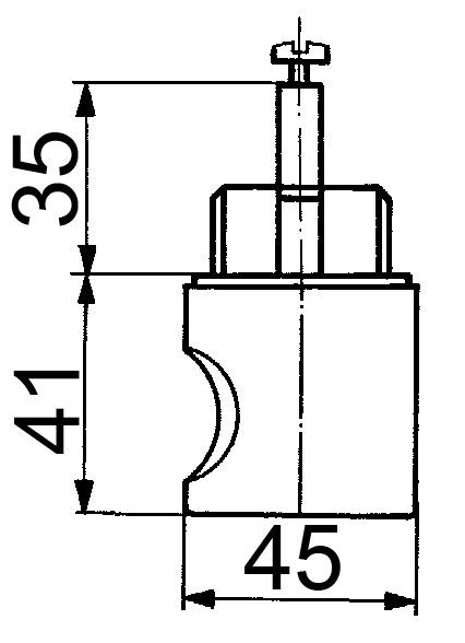 Olives tournantes HEUSSER 3413 / WKS - P5000