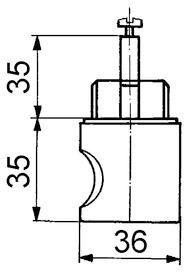 Pomelli girevoli HEUSSER 3413.2 / 3414.2