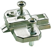 Plaques de montage cruciforme HETTICH Intermat Top