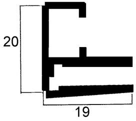 Profili per telai in lunghezze fisse