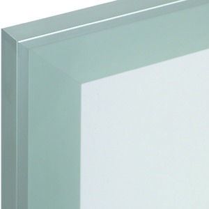 Telai per porte in vetro largo 55 mm senza vetratura, traversa 7 mm