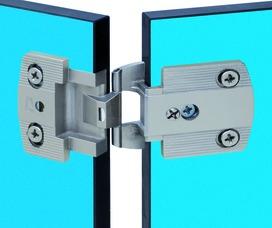 Cerniere per porte sottili a scodellino PRÄMETA SERIE 3000 piatte, sormonto anta 3.5 mm, cerniere laterali