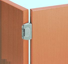 Cerniere a scodellino PRÄMETA SERIE 2800 CLIP, sormonto anta 11/15 mm, cerniere laterali, perno a filo