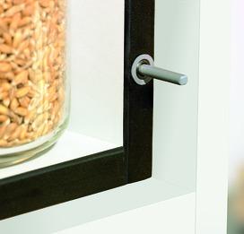 Sistema da apertura di porta GRASS Tipmatic Pin