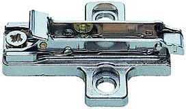 Kreuzmontageplatten SALICE für Schnellmontage-Topfbänder für Spanplattenschrauben