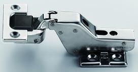 Charnières pour charges lourdes, charnière d'angle, centrique et rentrante