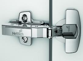 Cerniere HETTICH Sensys 8645i, cerniere laterali, ammortizzatore integrato, con chiusura automatica, campi d'impiego legno