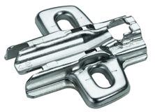 Plaques de montage cruciforme HETTICH Sensys/Intermat 8099, pour montage d'angle, à visser