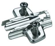 Plaques de montage cruciforme HETTICH Sensys/Intermat Direkt 8099, montage d'angle et sur cloison